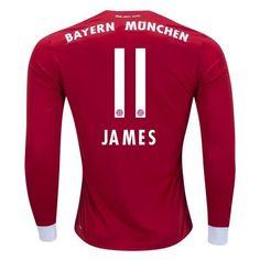 James  Rodriguez  11  Bayern  Munich  2017 18  Home   b8309dd200f