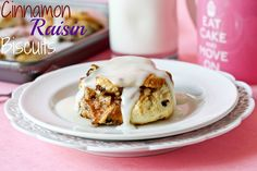 cinnamon-raisin biscuits- I worked at Hardees for 10 yrs just so I could make and eat these biscuits!