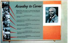 Postcard with George Washington Carver quotes