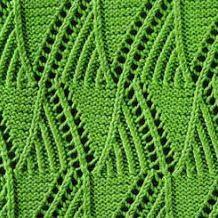 100 Lace Knitting Stitches