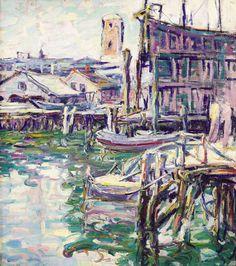 Kathryn Cherry - Gloucester Harbor - 1920