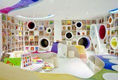 bibliotecas modernas par niños - Buscar con Google