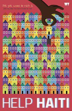 "Carlo Paolo Espiritu. PITI PITI Haiti. ""Graphic Advocacy Posters"". Bienal del Cartel Bolivia BICeBé® 2013"