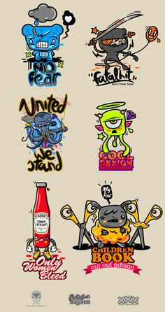 Various Illustrations on Behance