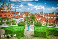 Fotka v albu Wedding photoshooting - Misura Travel & Bossy Photo Studio… Wedding Photoshoot, Photo Studio, Prague, Mansions, House Styles, Garden, Travel, Decor, Mansion Houses