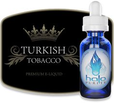 Our Turkish Tobacco E-liquid blend offers an excellent combination of sun-cured tobacco flavor with a very light semi-sweet top note. This unique e-liquid flavor is characteristic of the original Turkish Tobacco cultivated off the coast of the Black Sea, which is widely used in traditional cigarettes and blended into various pipe tobaccos