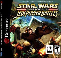 3eee43cbf75 Star Wars Episode 1 Jedi Power Battles | Video Games RETRO | Pinterest |  Games, Jedi powers and Star wars episodes