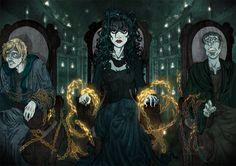 Bellatrix Lestrange by Luís Borgia [©2012]