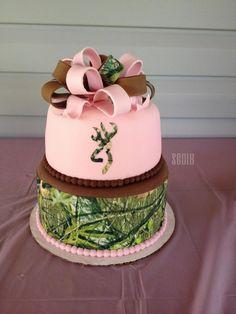 browning camo cake for girl