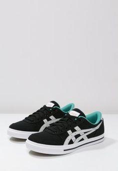 ASICS AARON - Sneakers laag - black/soft grey - Zalando.nl