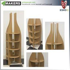 Wood Display Stand, Pos Display, Bottle Display, Display Design, Display Shelves, Store Design, Shelving, Cardboard Display, Cardboard Art