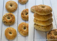 Kochen mit Diana/ Cooking with Diana: Grundrezept: Bagels/ Basic recipe: bagels