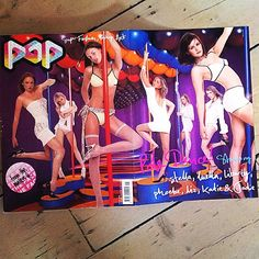 """""""Pop issue 1 cover starring Stella McCartney, Luella Bartley, Liberty Ross, Phoebe Philo, Liz Collins, Katie Hillier and Jodie Maunder #girlpower @stellamccartney @luellabartley @lizcollinsphotographer @hillierlondon @libertyross #phoebephilo """" Photo taken by @franburns on Instagram, pinned via the InstaPin iOS App! http://www.instapinapp.com (07/06/2014)"""