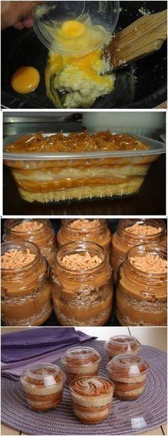 CHURROS NO POTE..UMA DELÍCIA E FÁCIL DE FAZER!! VEJA AQUI>>>Na batedeira, bata as claras em neve e reserve. Em outra tigela, ainda na batedeira, bata as gemas com a manteiga e o açúcar até formar um creme fofo. Intercale o leite, a canela e a farinha, sem parar de bater, até ficar homogêneo. #receita#bolo#torta#doce#sobremesa#aniversario#pudim#mousse#pave#Cheesecake#chocolate#confeitaria Brazillian Food, Confort Food, Food Places, How Sweet Eats, Candy Recipes, Chocolate, Diy Food, Cupcakes, Mousse