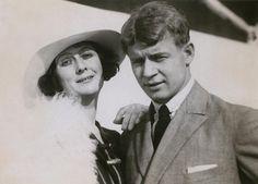 Isadora Duncan (pioneer of modern dance) and her husband Sergei Esenin (poet)