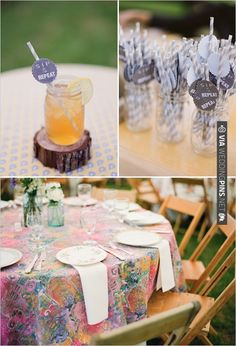 lavender straws   CHECK OUT MORE IDEAS AT WEDDINGPINS.NET   #weddings #weddinginspiration #inspirational