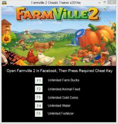 Farmville 2 Cheat Hack Trainer V2014a