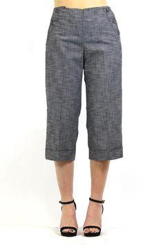 43d7d63a30 Women s Larry Levine Stretch Crop Pants