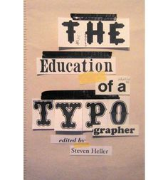 Exploring the methods for teaching and learning typography, this book features more than 40 essays from top experts and educators in typography today. These essays run the gamut from introducing the themes of type and typography to various complex and rare strategies for learning.