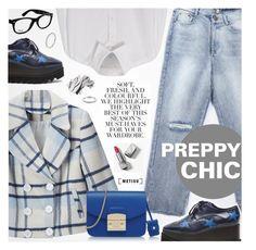 """Preppy Chic"" by metisu-fashion ❤ liked on Polyvore featuring STELLA McCARTNEY, BLUE NOTCH, Y's by Yohji Yamamoto, Folio, Furla, Bobbi Brown Cosmetics, Burberry, Ray-Ban, polyvoreeditorial and polyvorecontest"