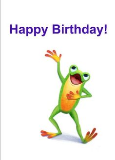 Send personalized Freddie the Frog birthday cards to your students the old-fashioned way--through the mail! Edit with your student's name and your name inside.  This is a real card (not an e-card) shared from Sendcere.