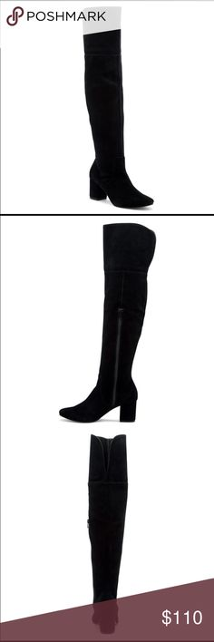 Sole society Leandra OTK Boot Gorgeous OTK boots! My legs are slightly too small for these so they look awkward on me. New in box and sold out online. Price firm! Fits true to size Sole Society Shoes Over the Knee Boots
