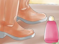 5 Ways to Stretch Boots - wikiHow Hunter Rain Boots, How To Stretch Boots, 5 Ways, Stretches, Calves, Clothes, Shoes, Fashion, Outfits