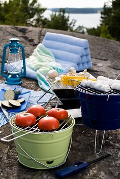 Picnic on a rock #picnic
