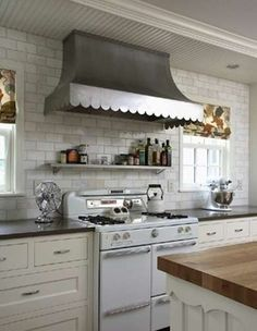 range hood ideas scalloped