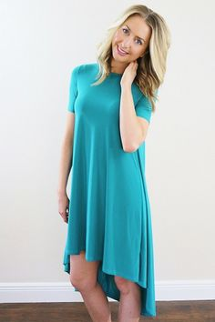 Vero Dress-- Flowy cocktail dress or casual dress. Love this jade dress by Unhinged Boutique