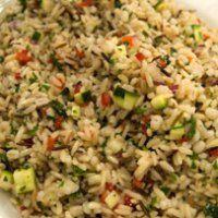 Emeril's Herbed Wild Rice Pilaf