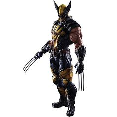Square Enix Marvel Universe Variant Wolverine Play Arts Kai Action Figure * Read more reviews of the product by visiting the link on the image. (This is an affiliate link) #MarvelActionFigures