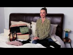 The body beautiful: Miranda Kerr's exclusive lifestyle video -- Packing | NET-A-PORTER.COM