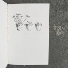 Sketchbook by Monica Chulewicz. There's still time to sign up for The Print Exchange!