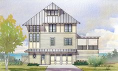 House Plan 1637-00118 - Cottage Plan: 3,331 Square Feet, 5 Bedrooms, 4 Bathrooms