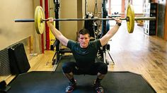 A complete snatch warm up. A sound warm up routine will develop proper lifting mechanics.
