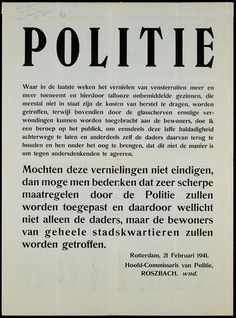Rotterdam, Ww2 Posters, Vintage Ads, Wwii, History, Event Posters, Nostalgia, World War Ii, Vintage Advertisements