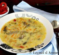 De cand cu vremea asta friguroasa am tot gatit supe si ciorbe. Un lichid cald face minuni iarna cand esti infrigurat. Fie el ceai, supa sau ciorba acrita cu bors de putina.Asa ca am tot gatit diverse combinatii. Din pacate nu am facut poze la toate ciorbele pe care le-am gatitde-a lungul timpului desi poate … Vegetarian Recipes, Cooking Recipes, Good Food, Yummy Food, Romanian Food, I Want To Eat, Dessert Drinks, Desert Recipes, Chowder