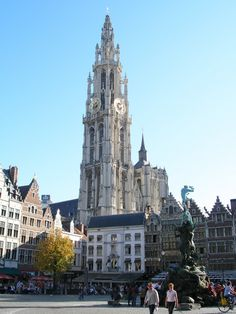 Wonderful Antwerp http://www.travelandtransitions.com/european-travel/