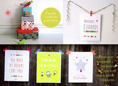 menudos cuadros 1 Tienda online Menudos Cuadros  Paredes Creativas para Niños