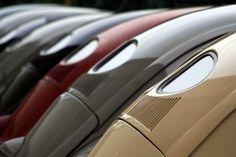 Classic VW Beetles.