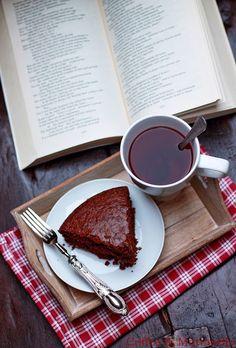 Coffee & Mattarello: Torta all'acqua al cioccolato fondente