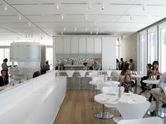Terzo Piano Restaurant In The Modern Wing At Art Insute Of Chicago