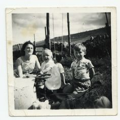 Mum, Susan, Alan and Shirley, late 50's.