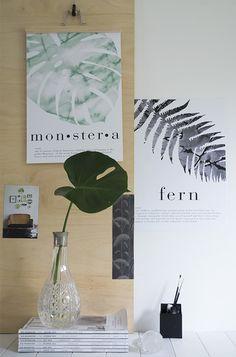 Crisp Sheets botanical prints | styling by Tiffany Grant-Riley