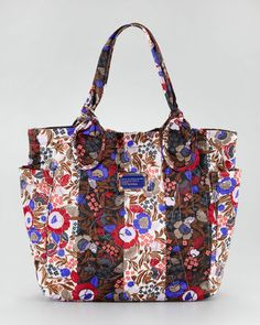 $198   MARC by Marc Jacobs Medium Pretty Nylon Tate Tote, Floral