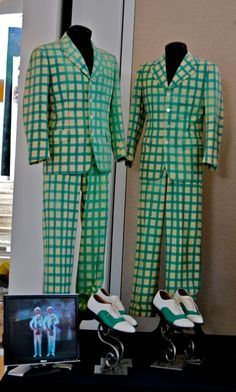 "Gene Kelly and Donald O'Connor's suits from ""Singin' in the Rain"""