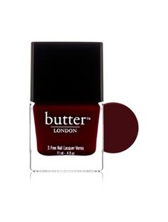 Hot Fall 2012 Nail Polish Color: Blood Red (Butter London, La Moss) Yummmmmm