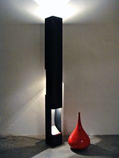 66.a Vittoriano Viganò, Lampada Prisma, Arteluce, 1960