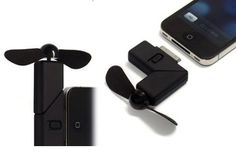 Cool Dock Fan Gadgets Cooler for iPhone - $9.99 | The Geeky Store